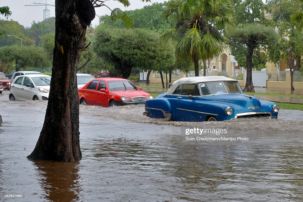 Flooding In Havana After Heavy Rainfall | Getty Images