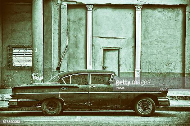 Vintage American Car, Havana, Cuba