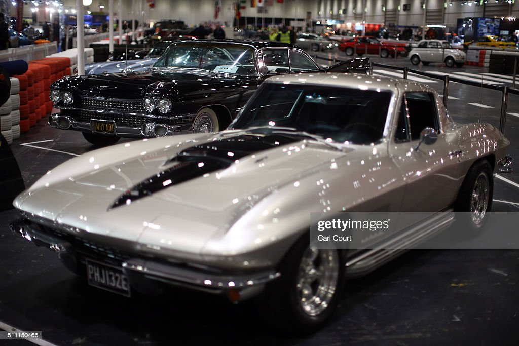 Preview of the classic car show getty images for Old classic american cars