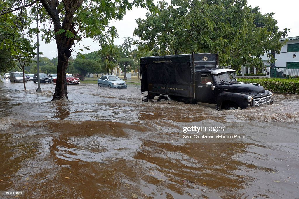 Flooding In Havana After Heavy Rainfall Getty Images