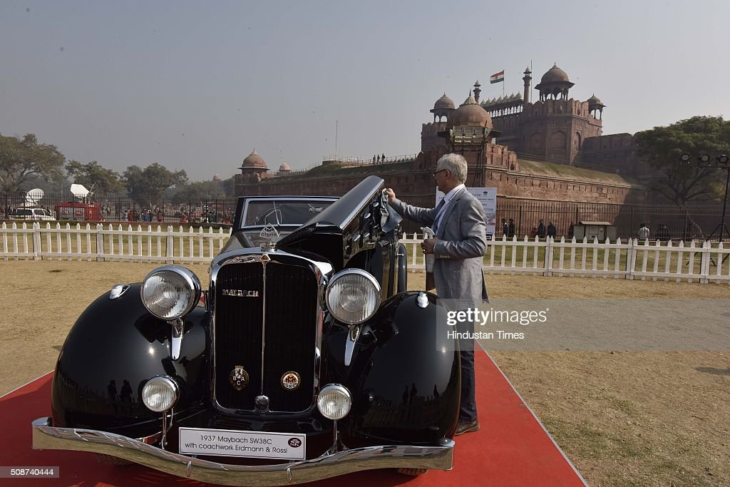 Vintage and classic cars from various parts from India as well as from different countries at the display during the 6th edition of 21 Gun Salute International Vintage Car Rally and concours show in front of Red Fort Red Fort lawns on February 6, 2016 in New Delhi, India. Around 100 vintage cars and 25 vintage bikes will go from Red Fort to Greater Noida and around 50,000 people are expected to participate. In a relief for vintage car connoisseurs, the National Green Tribunal on Friday agreed to make a one-time exception to its order banning all vehicles older than 15 years from plying on Delhi roads.