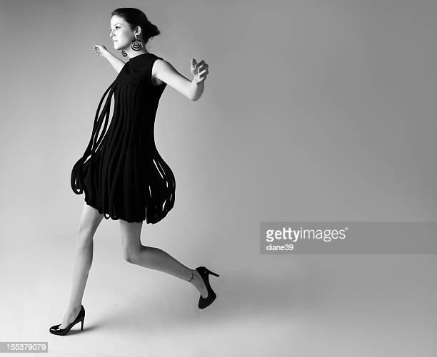 Vintage avant garde fashion