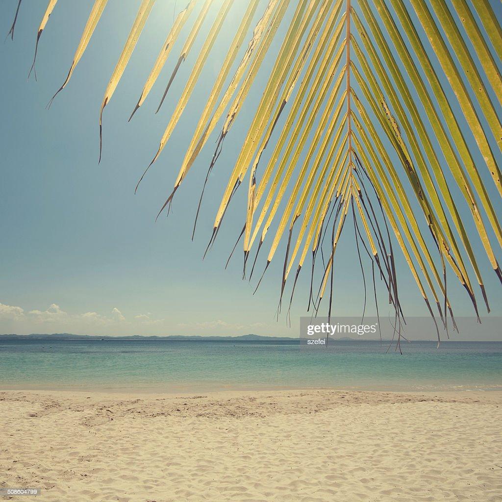 Vintage playa : Foto de stock