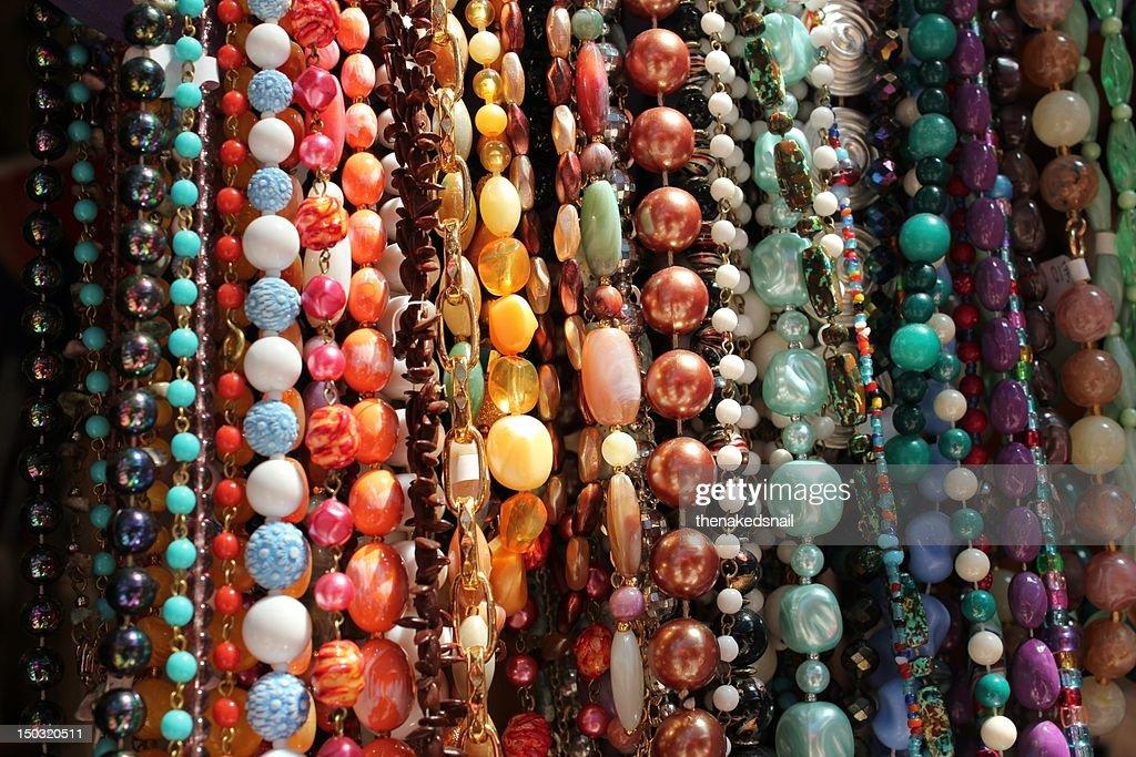 Vintage bead necklaces