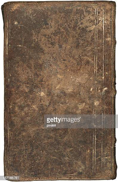 Vintage book cover (leather) XXL