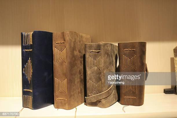 Vintage book on the shelf