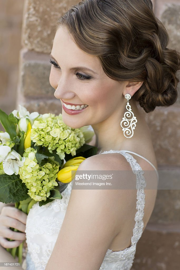 Vintage bride : Stock Photo