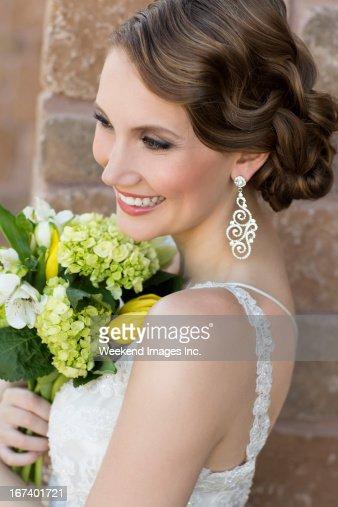 Vintage bride : Stock Photo