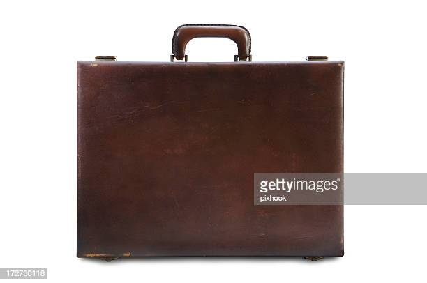 Vintage Briefcase with Path