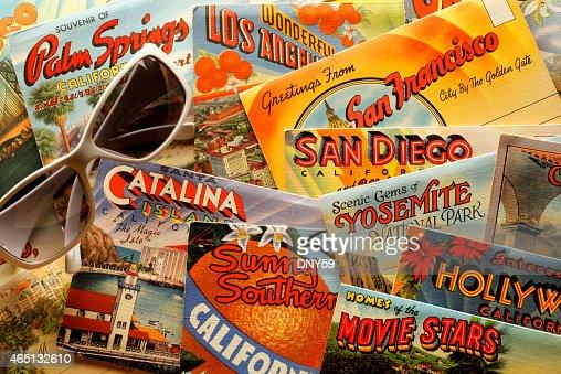 Vintage California Postcards