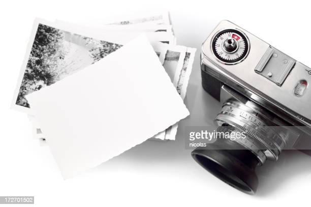 Vintage Camera & Blank Photopaper