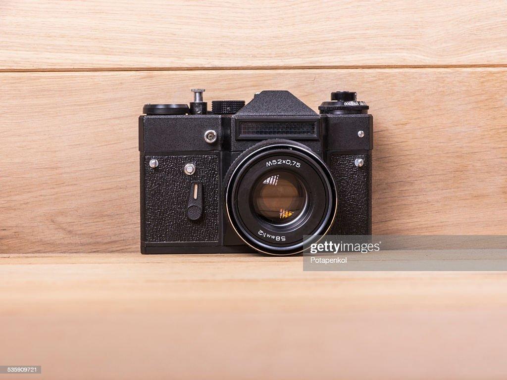 Vintage camera : Stock Photo