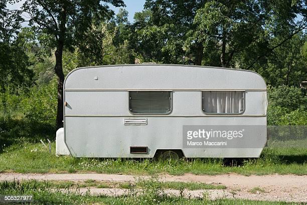 Vintage Camping Caravan
