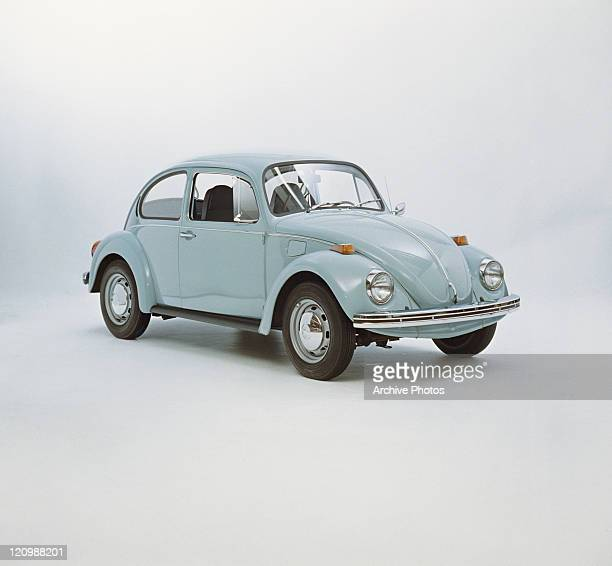 Vintage car against white background