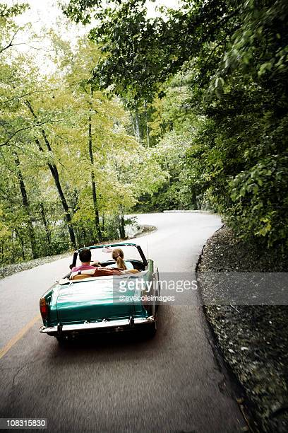 Coppia di auto d'epoca