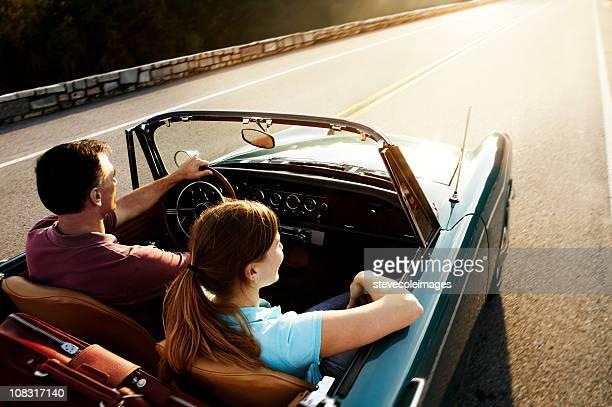 Vintage Auto Paar