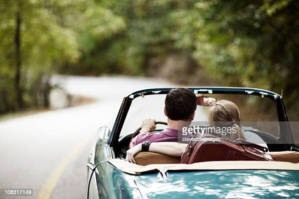 Vintage Car Couple