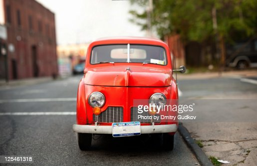 Vintage car in Brooklyn