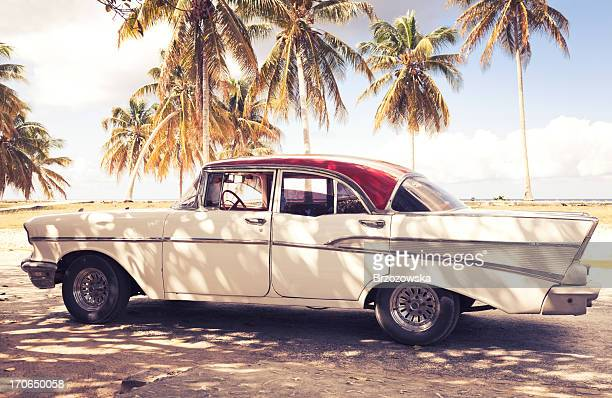 Vintage Auto in Kuba