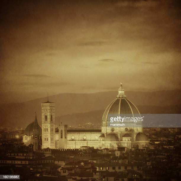 Vintage Cathedral of Florence