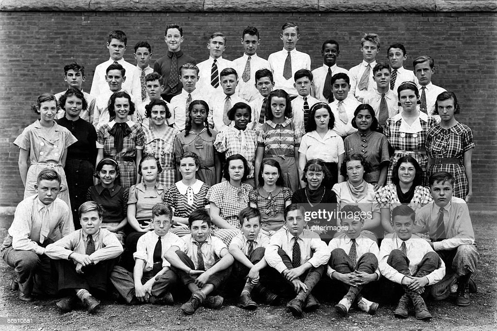 Vintage class picture