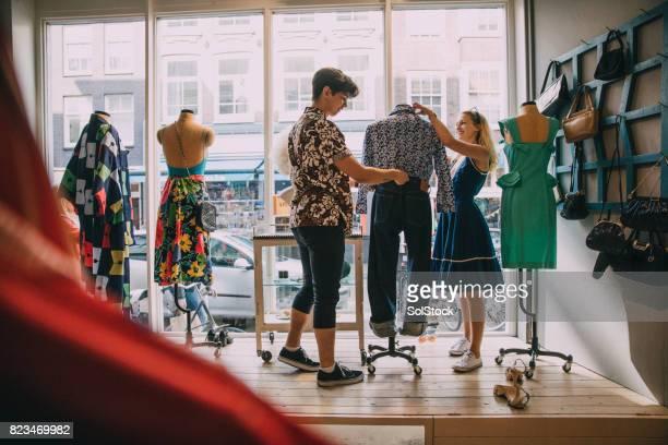 Boutique de vêtements vintage