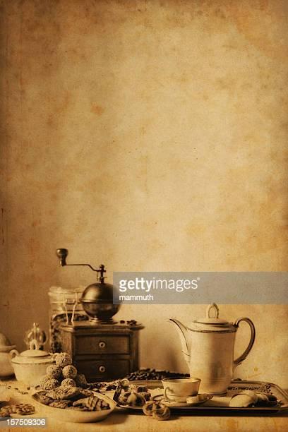 Café vintage Nature morte