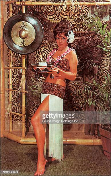 Tiki Woman with Candle