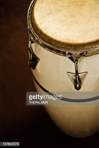 vintage conga instrument
