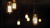 Vintage Edison Light Bulbs:
