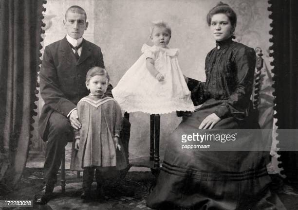 Vintage photo de famille