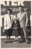 Vintage Family Snapshot