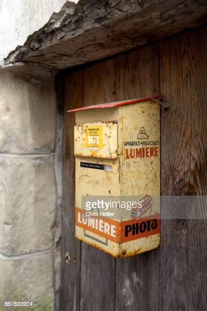 Vintage Film Development Mail Box