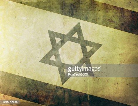 ビンテージフラッグ-イズラエル
