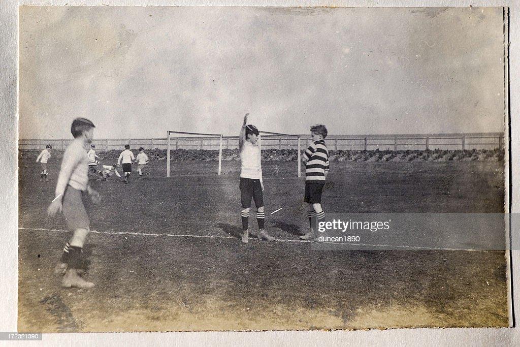 Vintage football : Stock Photo