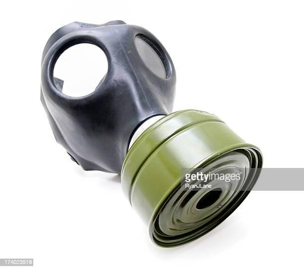 Vintage Gas Mask Isolated on White Background