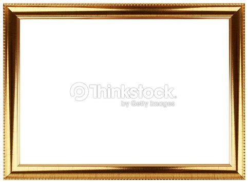 Vintage gold frame design. Classic frame.