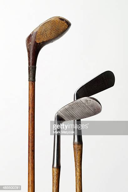 Vintage golf club heads