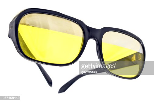 Vintage green sunglasses : Stock Photo