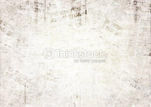 Vintage grunge newspaper texture background : Stock Photo