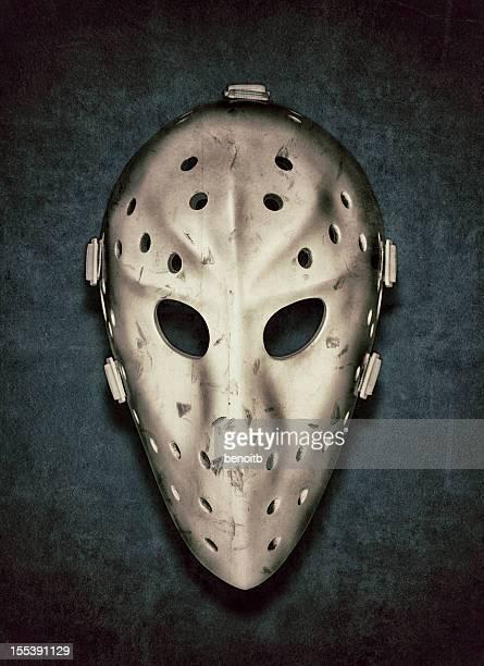Vintage Hockey Goalie Mask