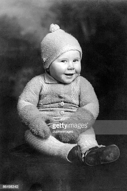 Vintage image of baby
