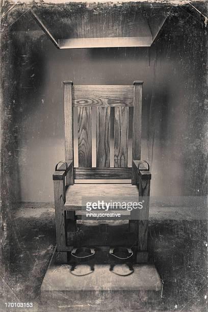 Imagen Vintage de silla eléctrica