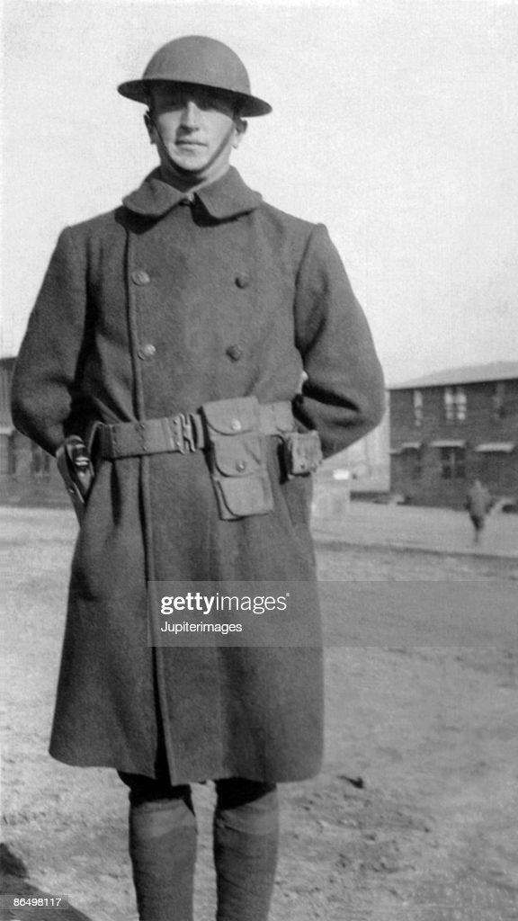 Vintage image of soldier