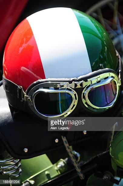 Vintage helemt italiana.