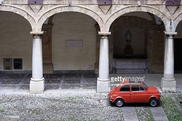 Italienische Vintage-Motiv