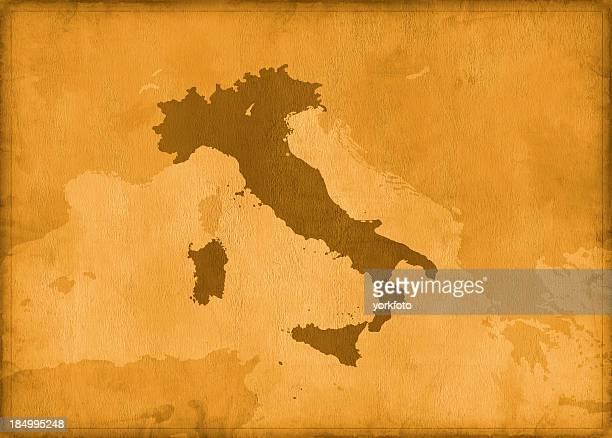 Vintage Italien Karte
