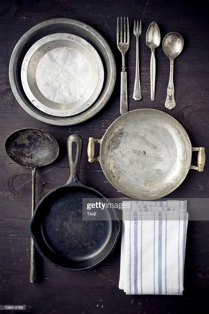 Vintage Kitchenwares : Stock Photo