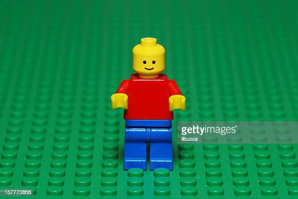 Vintage Lego-Charakter aus den 80er Jahren