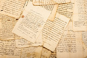 Vintage letters of the 1700/1800 century